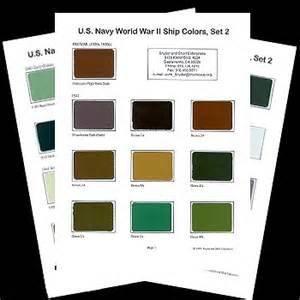 us navy colors us navy world war ii ship colors set 2 review