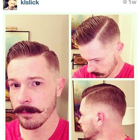mens haircut hard part pics of mens pompadour haircut with hard part search