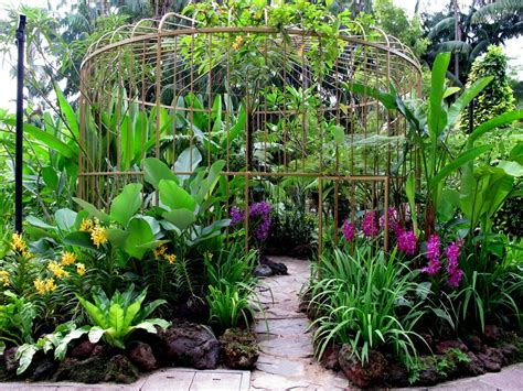 Orchid Garden by Singapore Orchid Garden Orchid Birdcage Fantasygarden