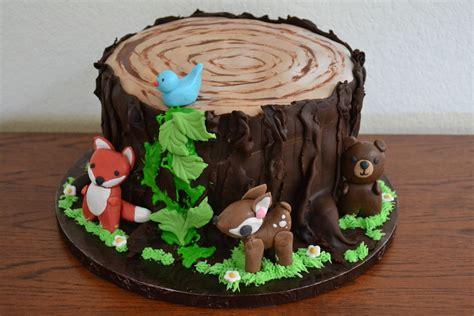 Animal Baby Shower Cake Ideas by Woodland Animal Baby Shower Cake Cakecentral