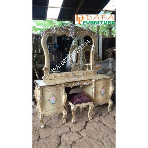 Meja Rias Kayu Murah meja rias mewah mebel jepara kayu jati murah terbaru