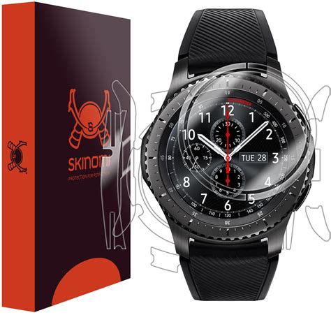 samsung gear s3 frontier techskin skin protector sm r760 46mm