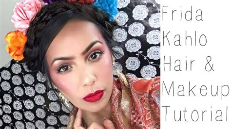 Frida Kahlo Hairstyle by Frida Kahlo Hair Makeup Tutorial Xomarissanicole