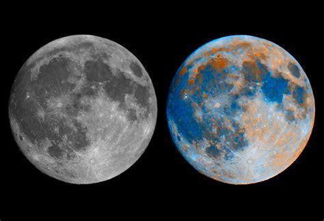 colors of the moon craig lent s astrophotos