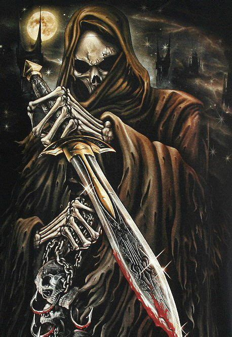 extreme fantasy tattoo amazing grim reaper photos and pictures grim reaper 4k