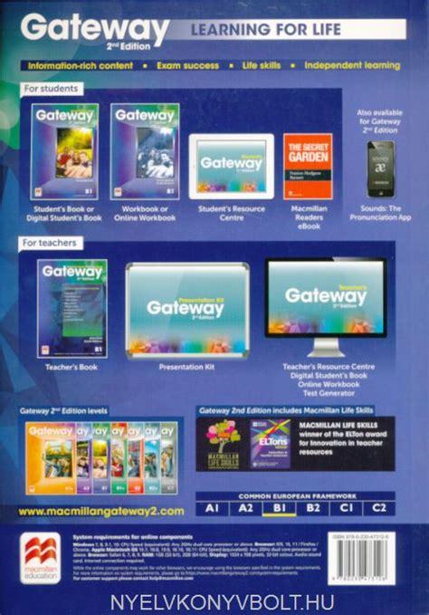 gateway 2nd edition b1 gateway 2nd edition b1 student s book nyelvk 246 nyv forgalmaz 225 s nyelvk 246 nyvbolt