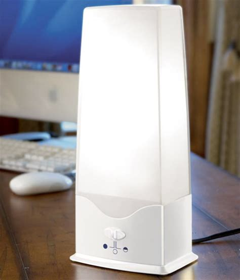 jet lag light therapy desktop light therapy box counters sad jet lag and