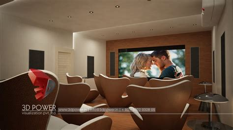 home theater interiors interior design services malappuram 3d power