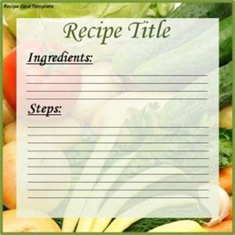 editable recipe card template with hearts free editable in ms word recipe card template