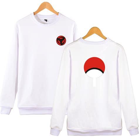 Hoodie Uchiha Clan Saringan Zemba Clothing sharingan and uchiha clan logos sweatshirt 6 colors