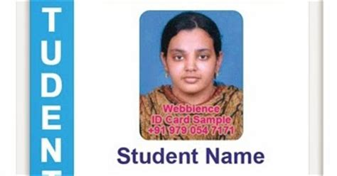 penn state student card template id card coimbatore ph 97905 47171 college id card