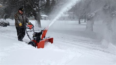 Fox 11 Snowblower Giveaway - blizzard cindy dumps nearly a foot of snow on the northwoods wluk