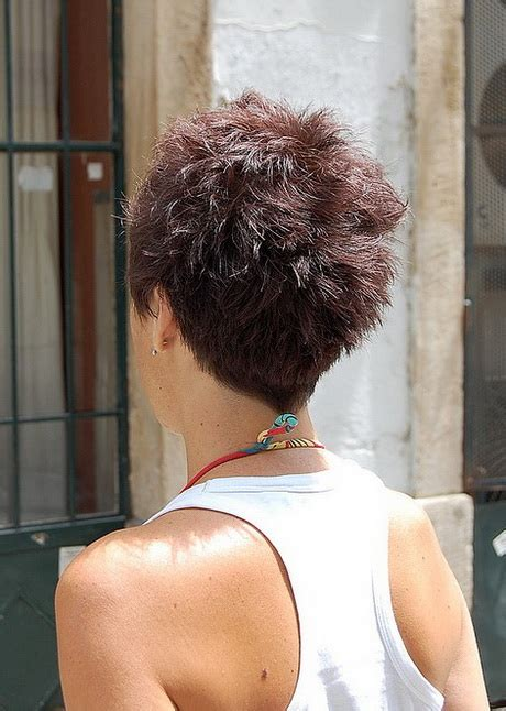 short hairstyles back view back view of short haircuts for women
