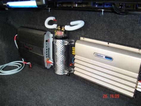 capacitor para audio de auto el equipo de sonido en los carros october 2006