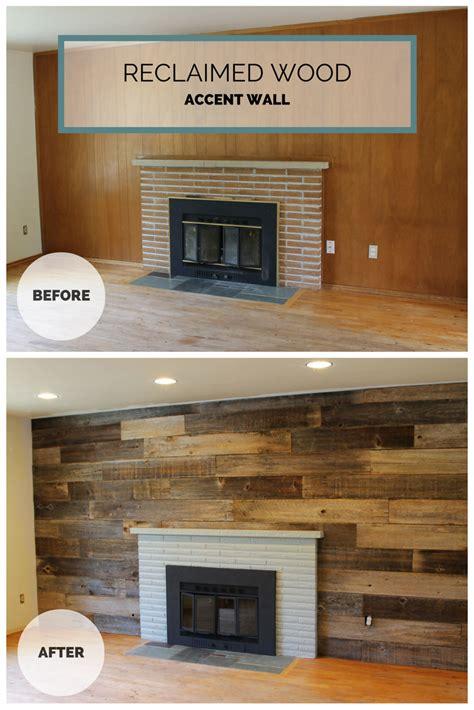 reclaimed wood wall painted fireplace   cedar fence