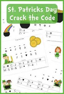 free worksheets st s day the code printable set instant pins