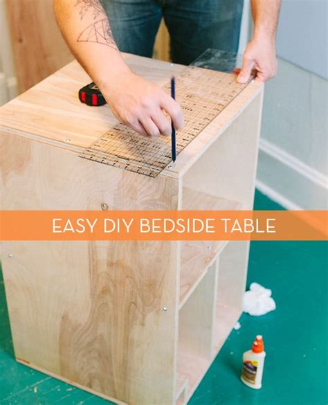 how to build a desk from scratch the 25 best diy bedside tables ideas on pinterest