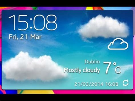 galaxy s3 weather widget apk how to install s4 weather widget on s2