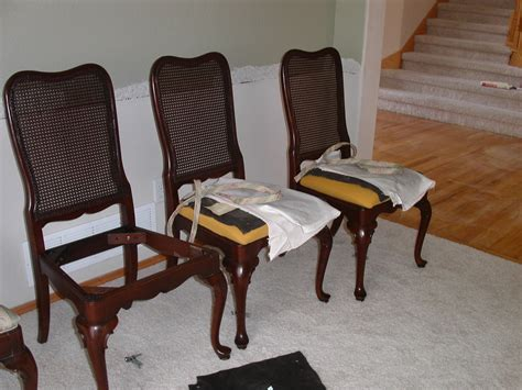 How To Recover A Dining Room Chair Reupholstering Dining Room Chairs Home Design Ideas
