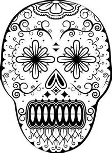 day of the dead coloring sheets day of the dead skull coloring pages coloring home