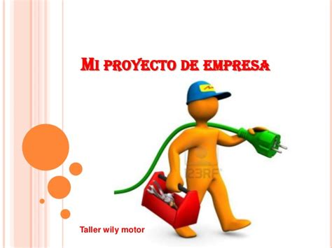 proyecto empresa de billeteras mi proyecto de empresa power point