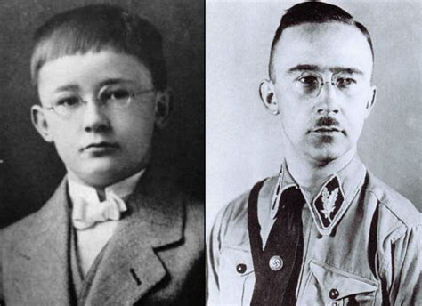 heinrich himmler the sinister of the of the ss and gestapo books 13 chilling childhood photos of history s most infamously