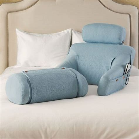 bed lounger pillow the bedlounge in a beautiful light blue color sold