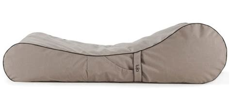 outdoor bean bag lounger by lujo outdoor bean bag lounger by lujo living design milk