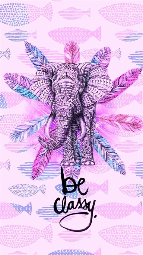 girly elephant wallpaper m 225 s de 25 ideas fant 225 sticas sobre imagenes tumblr fondos