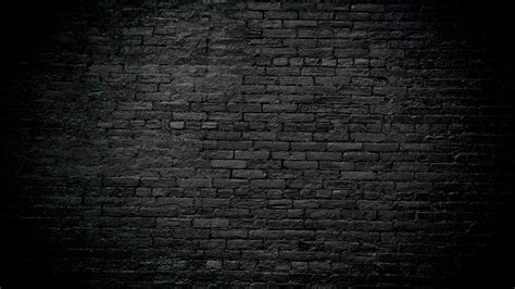 dark brick wall background black brick wallpapers wallpapercraft