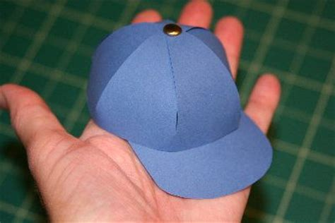 Paper Cap - tutorials paper baseball cap boxes are cool