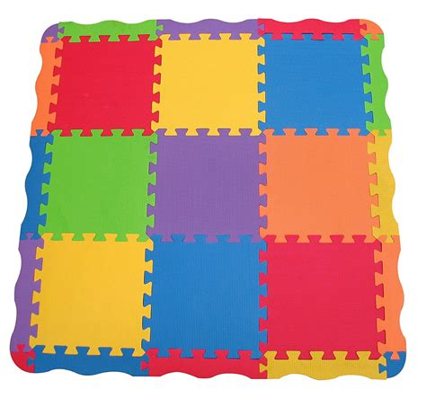 Play Mat Squares by Edushape Tiles 25 Play Mat Children Toddler Child