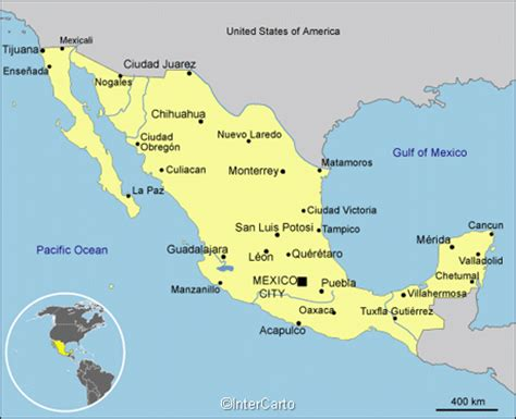 map of mexico major cities mexico map map of mexico