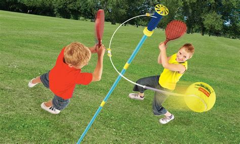 swing ball sets mookie classic swingball set groupon goods