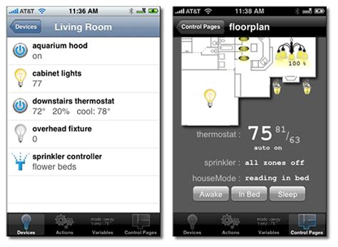 mac home automation server gets iphone automated