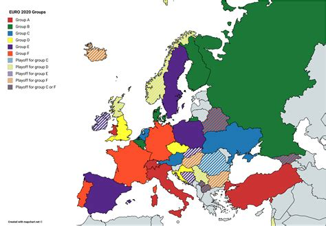 map  euro  groups euro