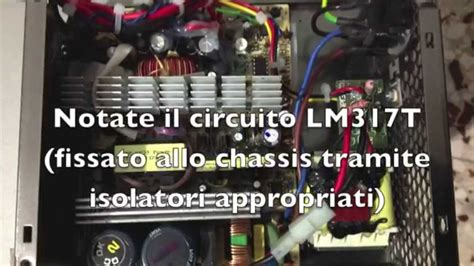 modificare alimentatore atx per uso car audio in casa