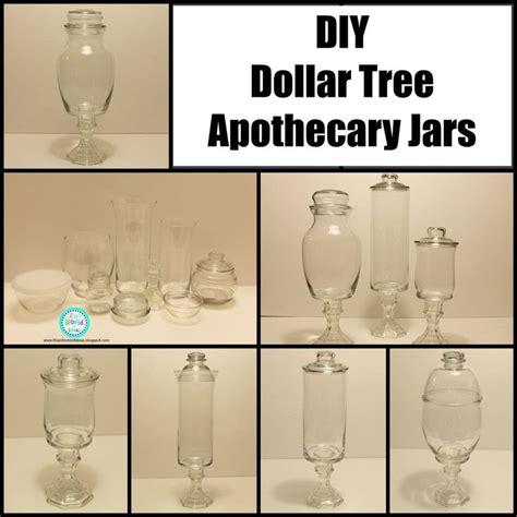 dollar tree diy projects diy dollar tree apothecary jars mercury glass jars and
