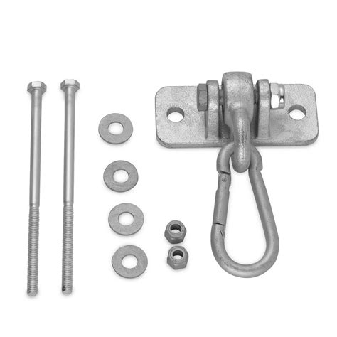 swing mounting hardware swingan heavy duty swing hanger with 4 in snap hook