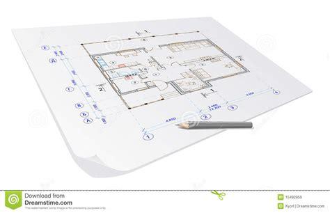 plan de d architecture images libres de droits