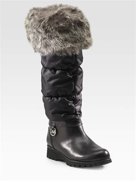 michael kors snow boots michael michael kors snow weather boots in