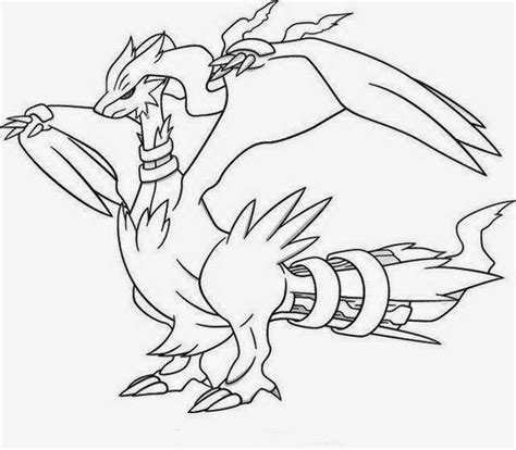 free coloring pages pokemon black and white sharp pokemon