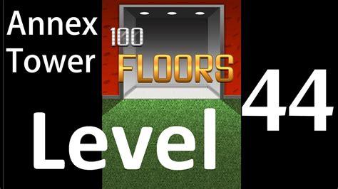 100 floors level 44 100 floors level 44 annex tower solution walkthrough