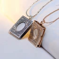 Personalized Locket Necklaces Aliexpress Com Buy New Fancy Personalized Picture Locket Necklace For Girls Photo Frame
