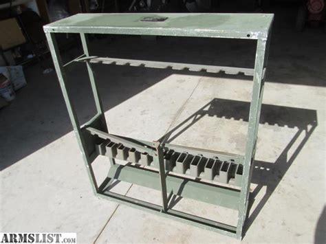 Used Storage Racks For Sale by Armslist For Sale Trade M16 M16a1 Storage Rack