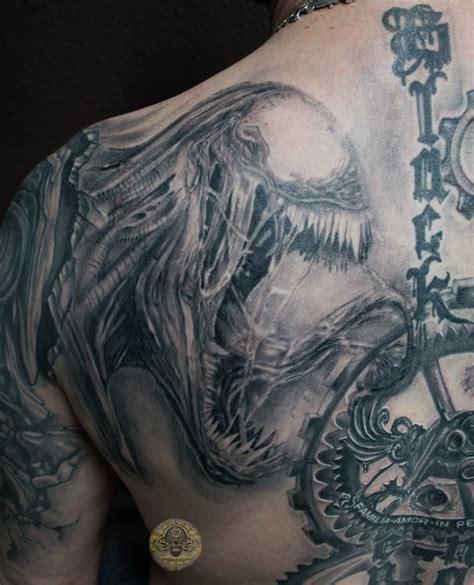 venom healed back in prg by 2face tattoo on deviantart