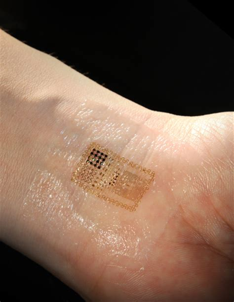 smart skin electronics that stick and stretch like a