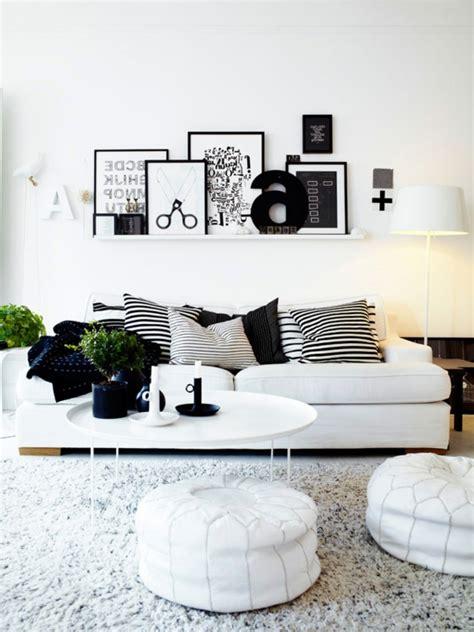 Orange Living Room Decor Schwarz Wei 223 Einrichtungsstil 18 Schicke Ideen F 252 R Ihr