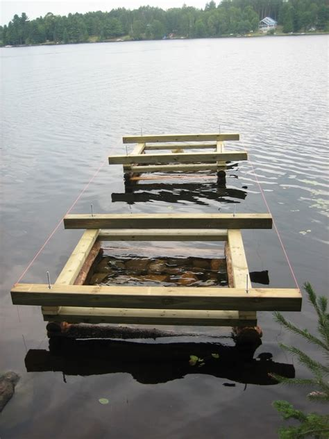 Crib Dock Construction by Thinking With Docks And Rocks