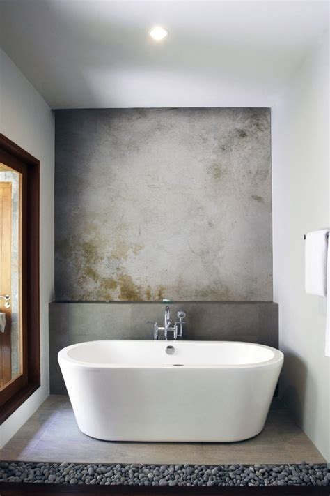 concrete bathrooms which walls should we splash out on renovoter
